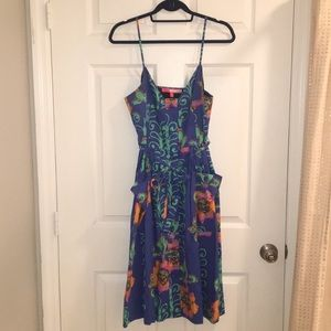 Tracy Reese G and P Belted Dress w/pockets
